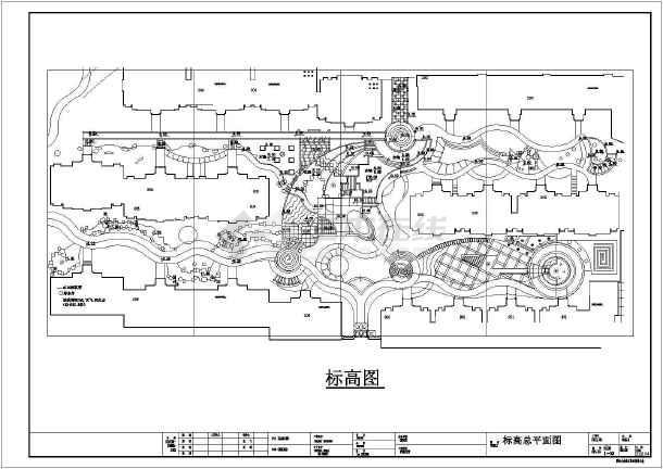 某居民小区竣工图(含施工设计说明,共33张图)-图二