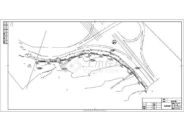 点击查看市政污水管线设计cad图,含设计说明第1张大图