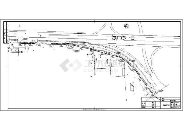 点击查看市政污水管线设计cad图,含设计说明第2张大图