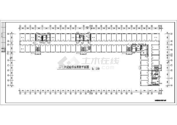 点击查看六层学生公寓给排水施工图第2张大图