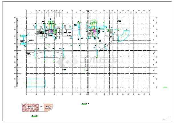 景岗山三建国贸研发大楼给排水设计施工图-图二