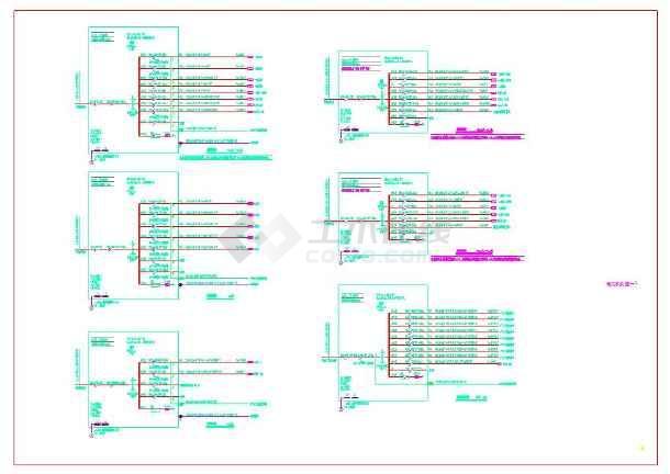 点击查看景岗山三建国贸研发大楼电气设计施工图第1张大图