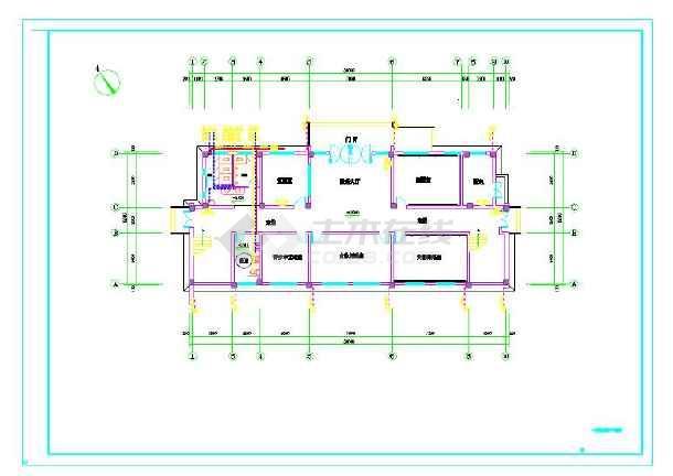点击查看苏颇五里河文化站给排水设计施工图第1张大图