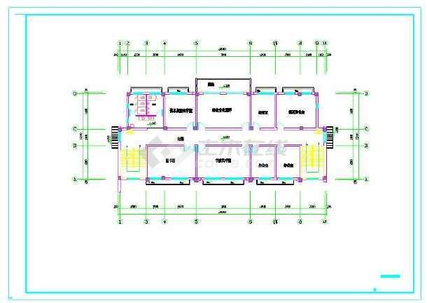 点击查看苏颇五里河文化站给排水设计施工图第2张大图