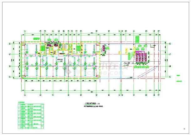 点击查看景岗山三建国贸研发大楼暖通设计施工图第1张大图