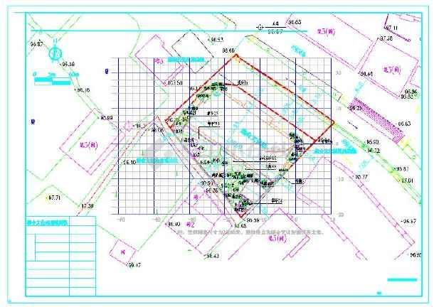 苏颇五里河文化站景观设计施工图-图一