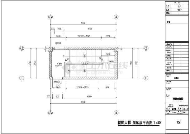 某两层框架结构自建房设计图  建筑面积:320平方米  占地面积:160.2平方米-图一