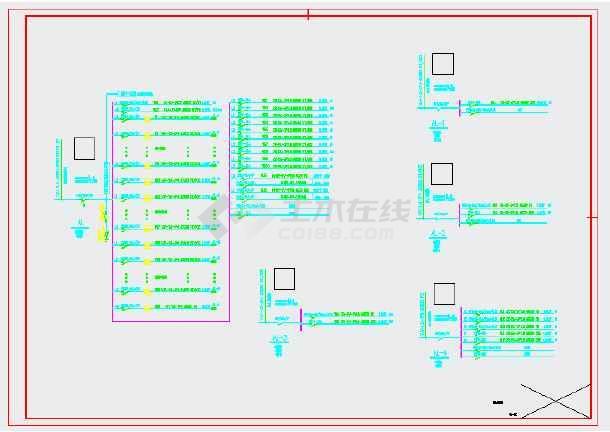 某地农贸市场内装饰工程--电气图(地上2层,总建筑面积3823平方米)-图一