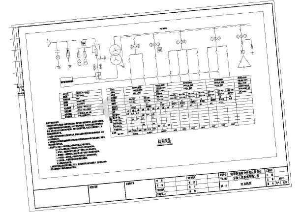 安徽某街道景观设计电气部分施工图-图一