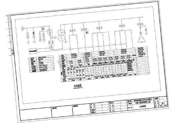安徽某街道景观设计电气部分施工图-图二