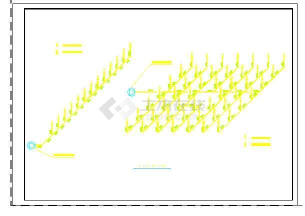 某公园喷水池节点设计cad详图-图二
