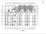 某小区水源热泵机房及地下车库暖通设计图纸 住宅及商业建筑总面积为39807平方米图片1