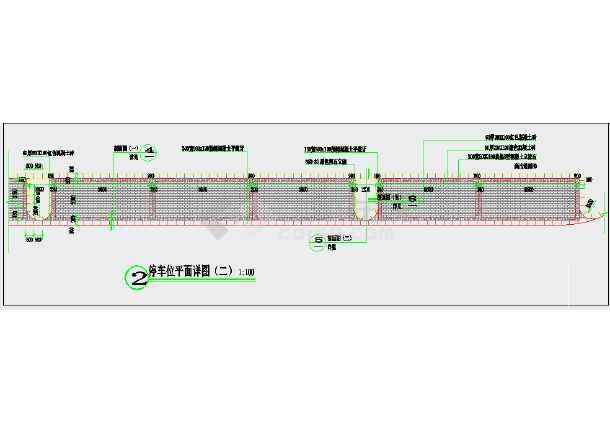 点击查看某小区停车位CAD施工详图第2张大图