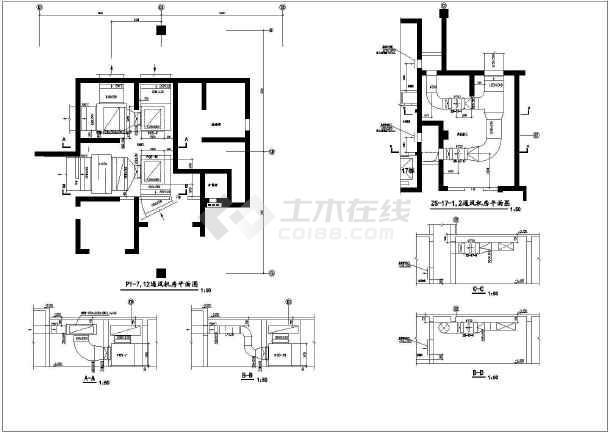 点击查看某商住楼地下室设计图纸  地下建筑面积约29000平方米第1张大图