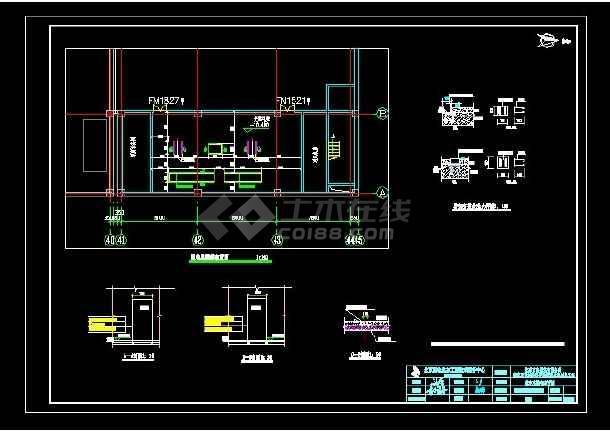 点击查看北京某地高基配电室增容工程施工图第2张大图
