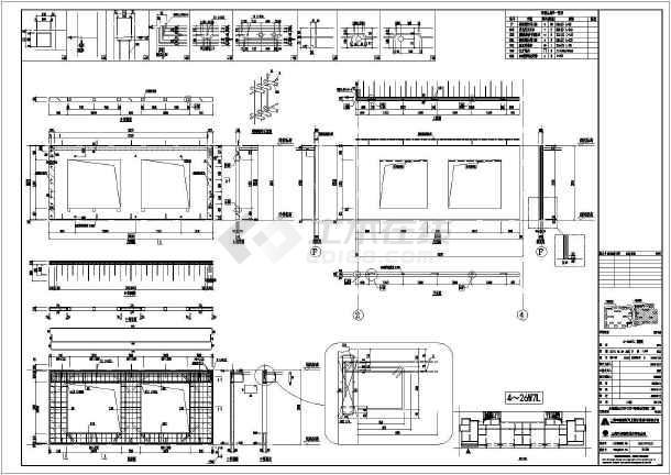 某小区高层住宅装配式建筑CAD拆分图-图一