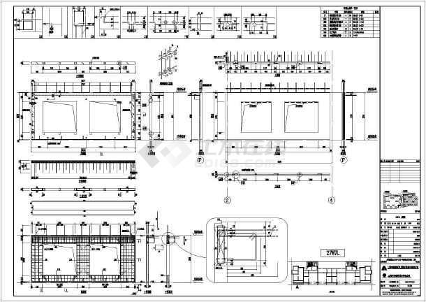 某小区高层住宅装配式建筑CAD拆分图-图二