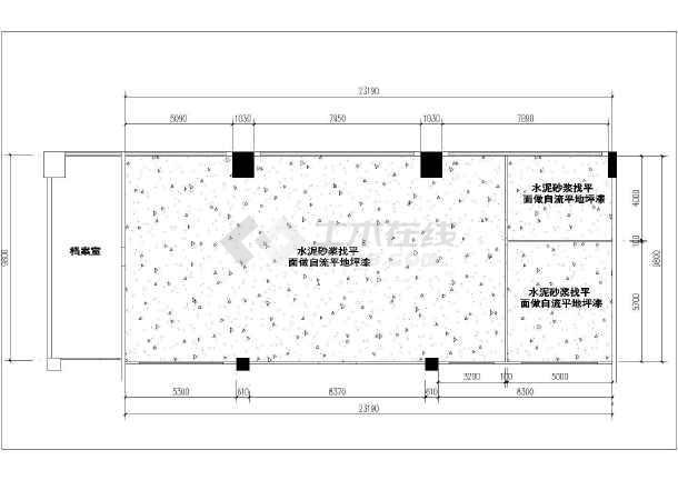 点击查看白石湖办公室装修CAD图纸2018年第2张大图