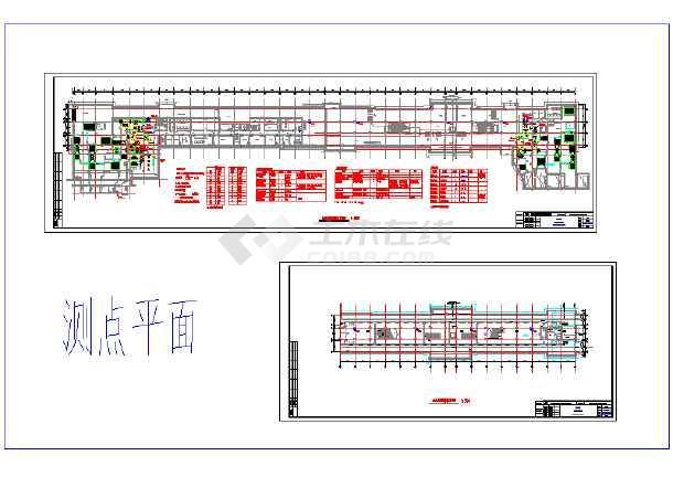 宁波市轨道交通工程地铁路站设计图-图一