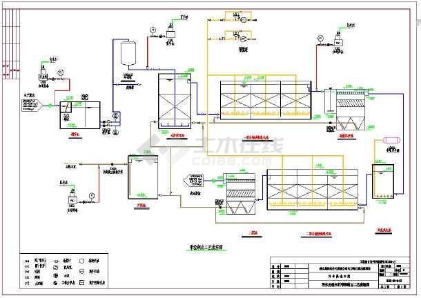 污水处理带控制点工艺流程图80立每小时-图一