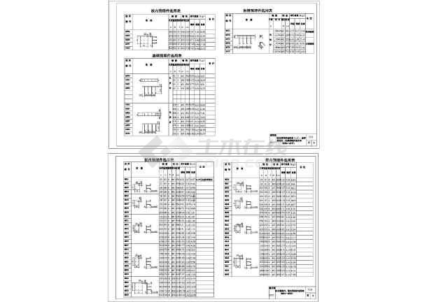 [节点详图]某抗压、抗碱预埋件图集CAD版-图二