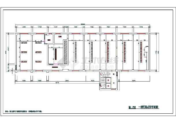 伞坝社区居家养老中心装修工程--电气-图一