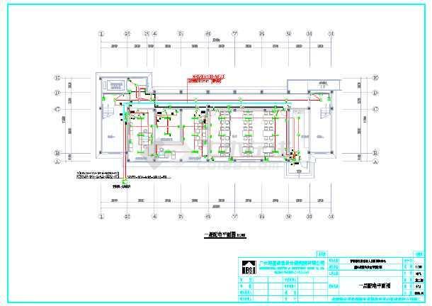 点击查看青草湖社区老年人日间照料中心电气系统图第1张大图