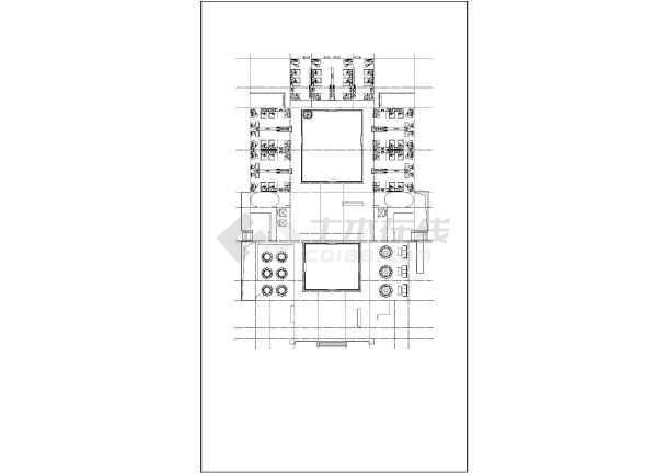 点击查看明清风格仿古造型酒店建筑设计施工图(歇山硬山屋面造型)第1张大图