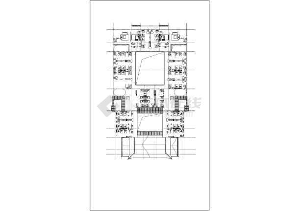 点击查看明清风格仿古造型酒店建筑设计施工图(歇山硬山屋面造型)第2张大图