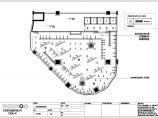 某兔服装专卖店室内设计装修施工图(实测面积165平方米)图片3