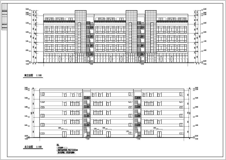 [济南]某四层工业厂房建筑结构电设备施工图图片2