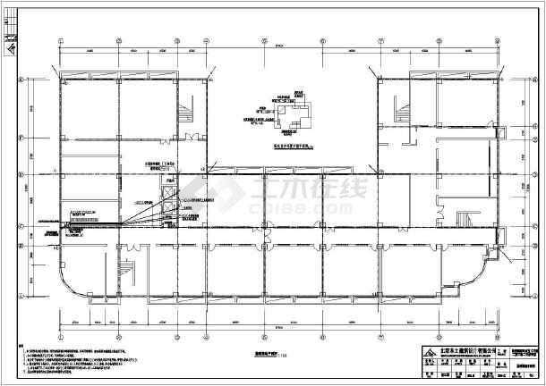 多层教学楼建筑电气图纸(包含5套图纸)-图一