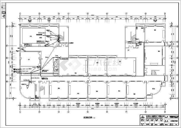 多层教学楼建筑电气图纸(包含5套图纸)-图二