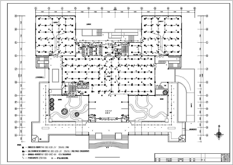 五层图书馆电气图纸(包含3套图纸)图片1