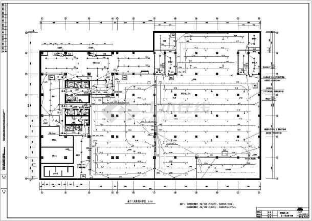 5套高层办公楼电气设计施工CAD图纸-图二