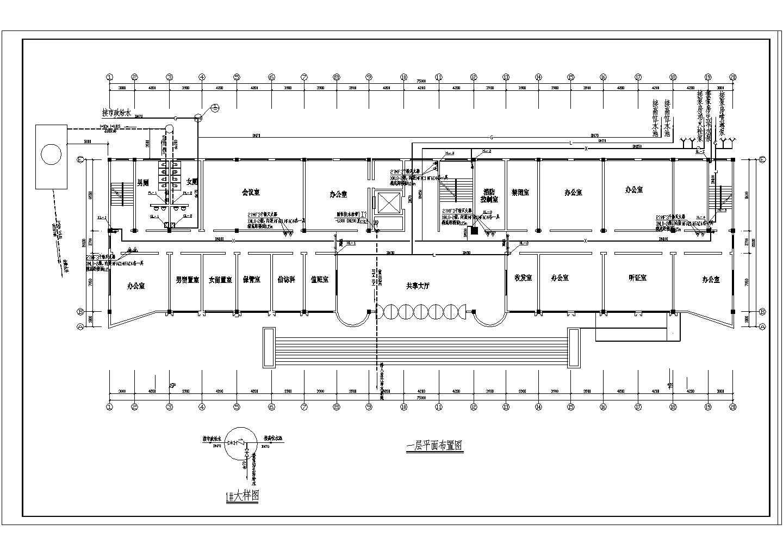 高层办公楼给排水图纸(包含6套图纸)图片2