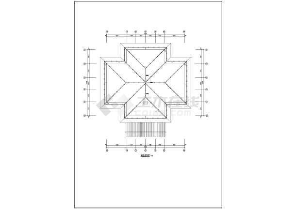 三层别墅建筑电气设计施工图-图二