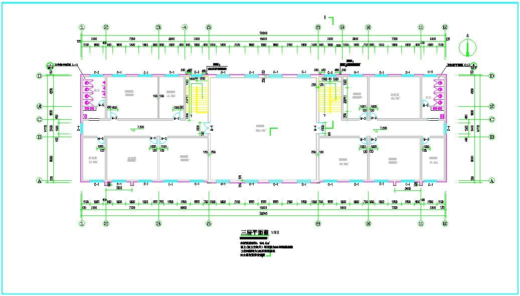 高层办公楼给排水施工图纸(包含5套图纸)图片2