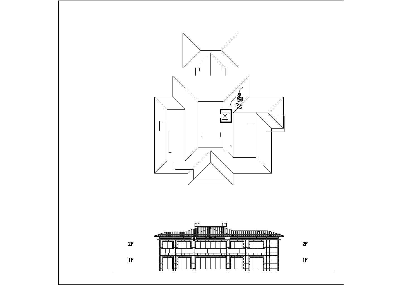 [方案][江西]背山面水园林式国际度假村建筑设计方案文本VIP图片1