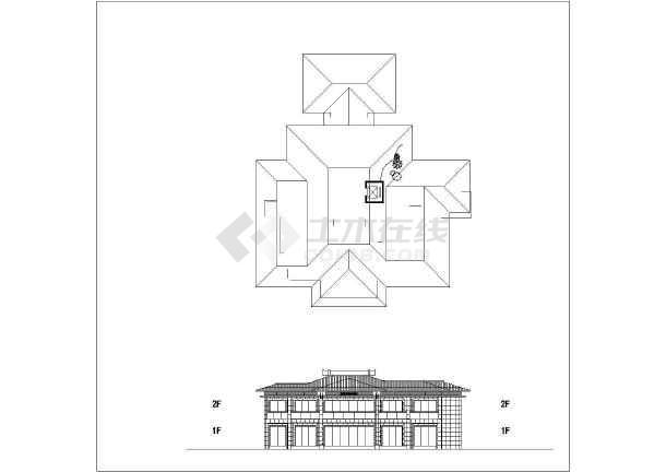 [方案][江西]背山面水园林式国际度假村建筑设计方案文本VIP-图一