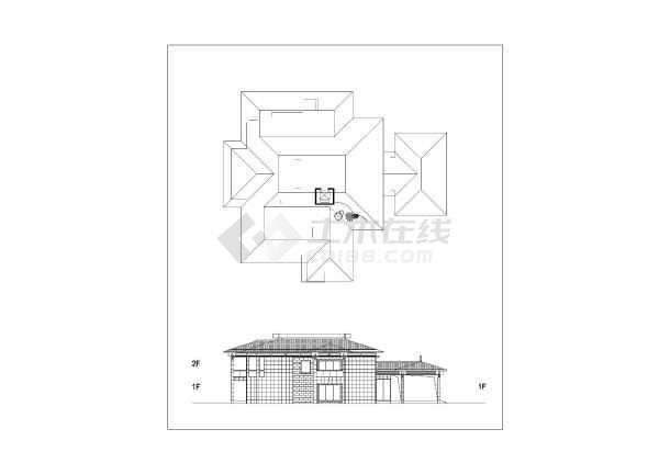[方案][江西]背山面水园林式国际度假村建筑设计方案文本VIP-图二