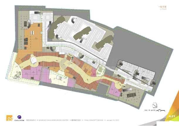 [方案][山东]知名超高层高端国际化都市综合体建筑设计方案文本(知名地产斥资200亿)-图二