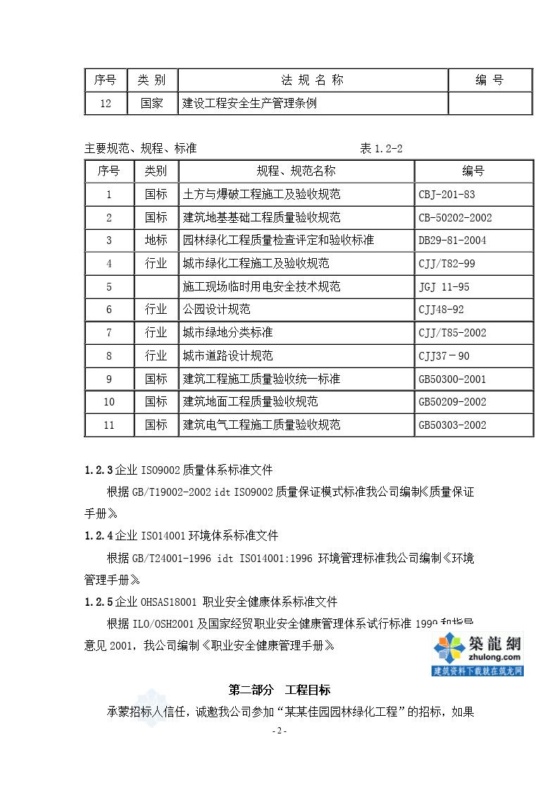 江苏某小区景观工程施工组织设计方案-图二