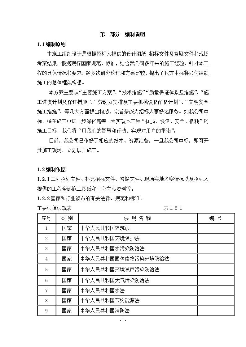 [江苏]某小区景观工程施工组织设计-图一