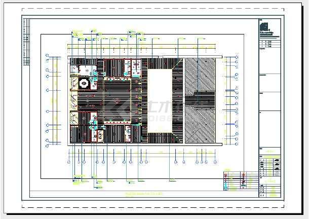 某民宿客栈全套室内装饰设计施工图(含水电图)-图二