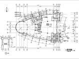 长44.5米 宽30米 -1+9层8588.5平米集团公司科研信息中心[办公楼]建筑施工图图片2