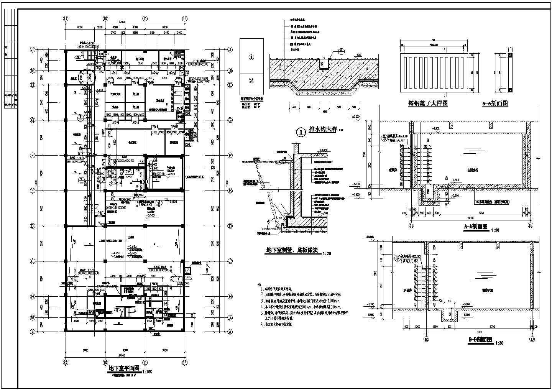 商场设计全套建筑施工CAD方案图图片1