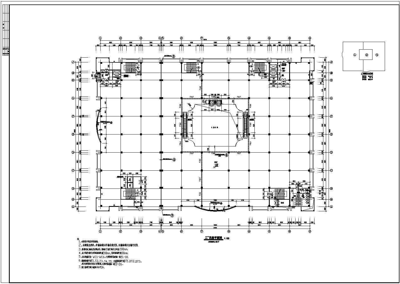 商场设计全套建筑施工CAD方案图图片2