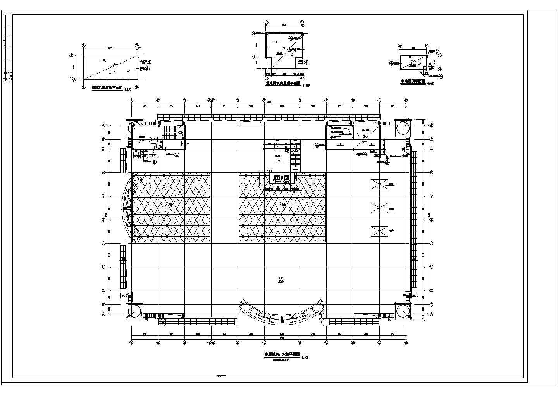 商场设计全套建筑施工CAD方案图图片3