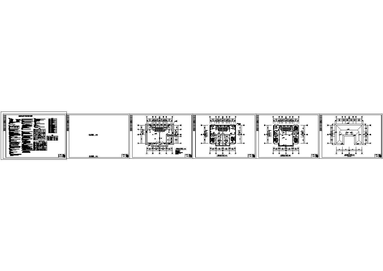 三层自建房别墅住宅给排水施工图图片1